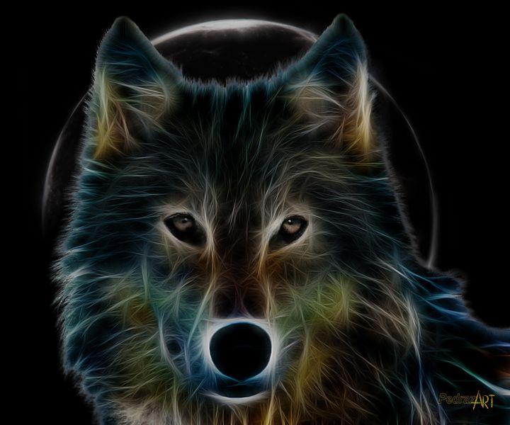Wolf Moon - PedrazArt Graphic Designs