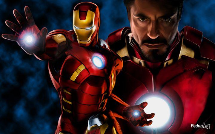 Iron Man - Tony Stark - PedrazArt Graphic Designs