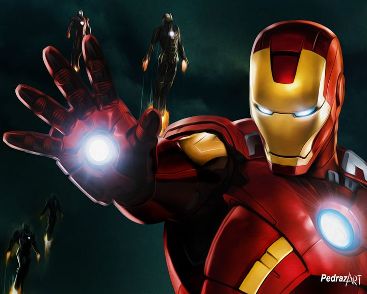 Iron Man - PedrazArt Graphic Designs