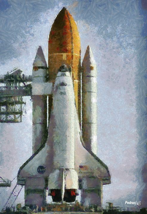 Space Shuttle - PedrazArt Graphic Designs