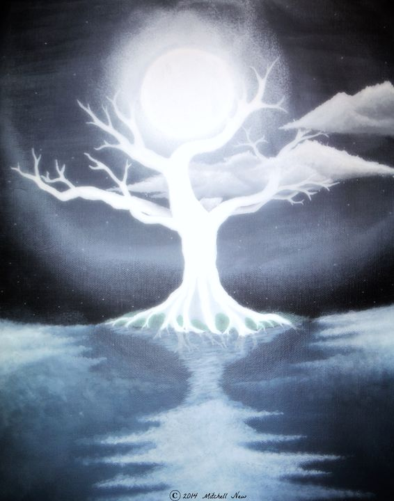 Moon Tree - Art of a Sage