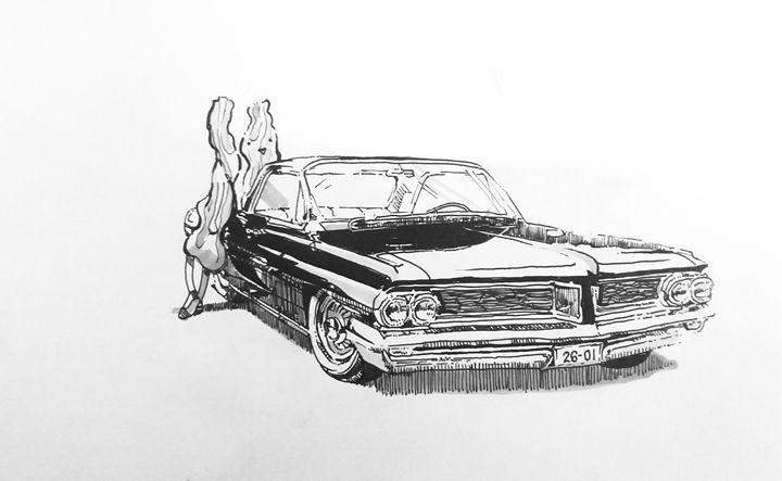 Bacons and a Pontiac - Aythea's Art