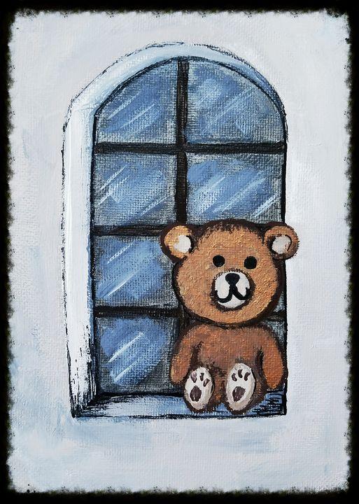 Quarantine bear - Lil-bitz of happiness