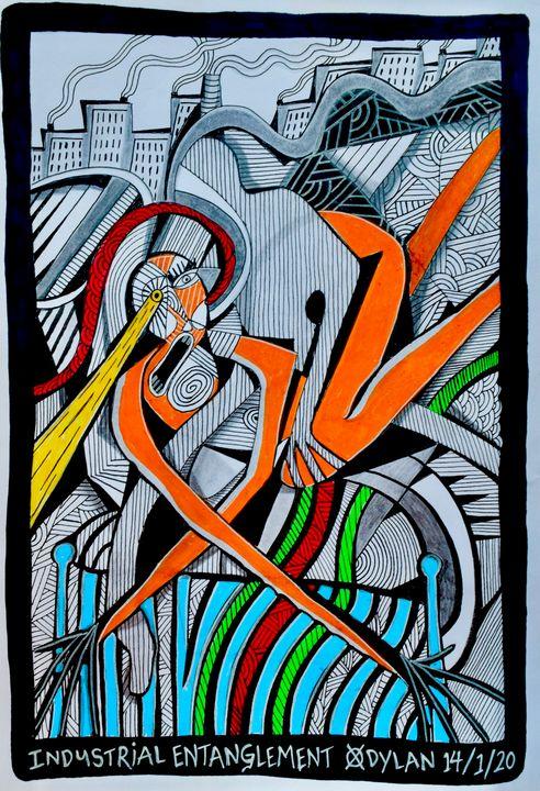 Industrial Entanglement - Dylan Gill