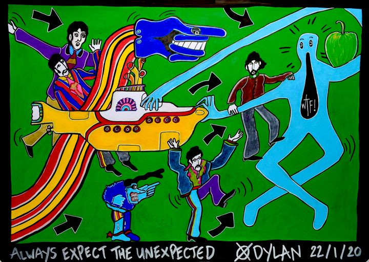 Always expect the unexpected - Dylan Gill