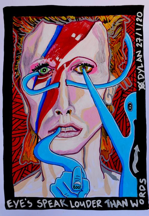 Eye's speak louder than words - Dylan Gill
