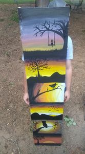 6ft free-hand painting