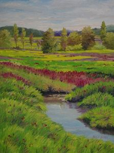 Late Summer Meadow - Green Leaf Arts