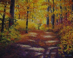 October Light - Green Leaf Arts