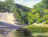 Original work, water and dunes