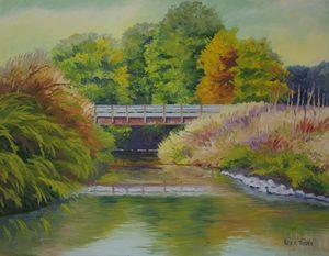 Bridge on Walton Road - Green Leaf Arts