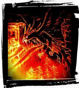Fire tail Phoenix