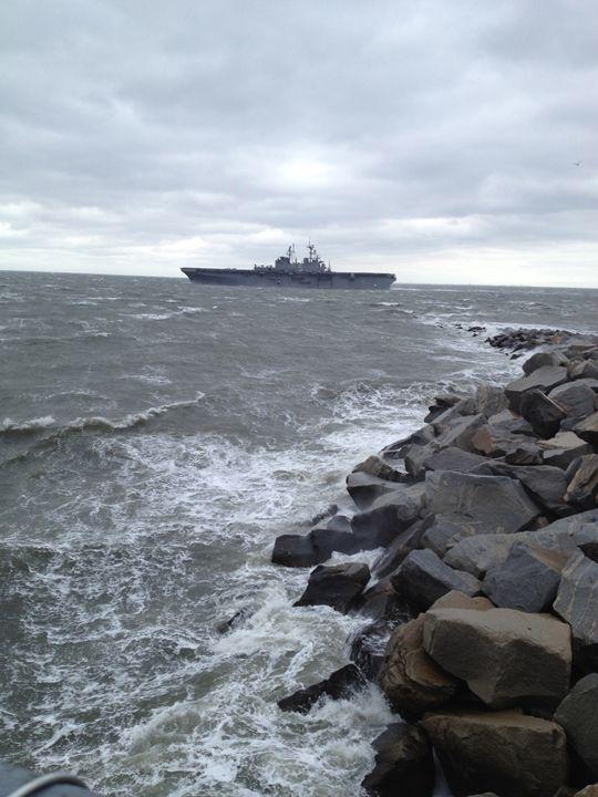 Sea Ship - Alanna's Art