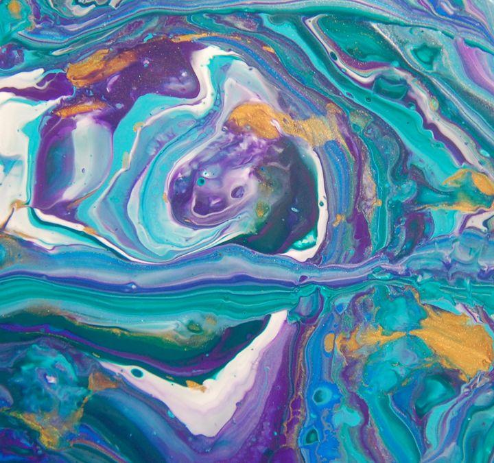 Purple Maze - Fluid Nature