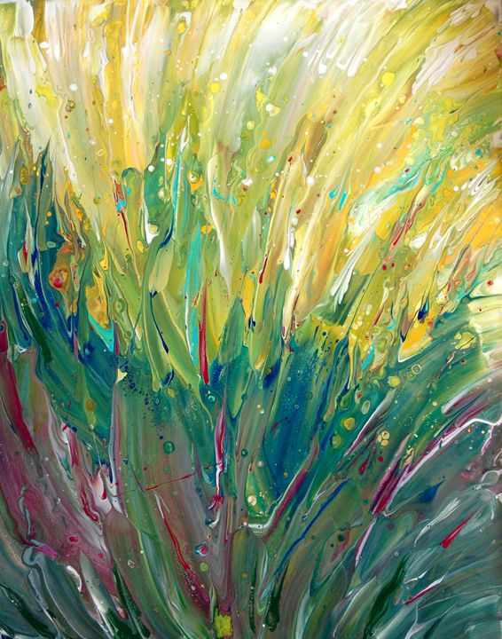 Windswept Cornfield - Fluid Nature