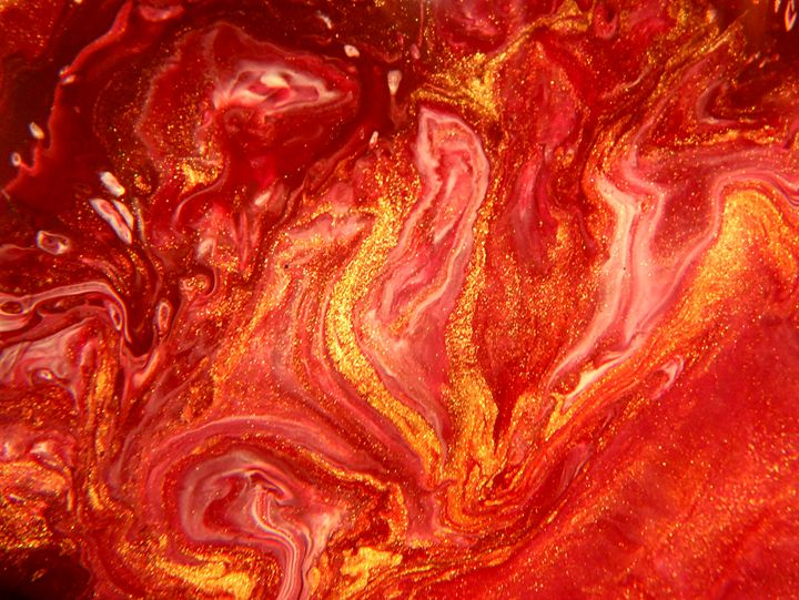 Dancing Flames - Fluid Nature