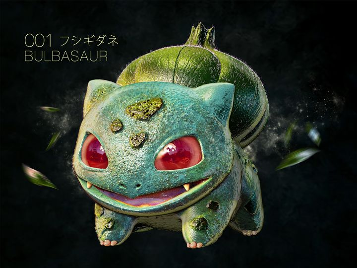 Realistic Pokemon - Bulbasaur - motionmakers