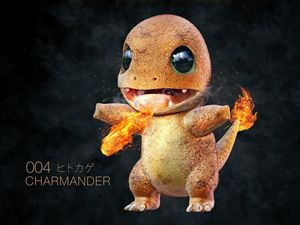 Realistic Pokemon - Charmander