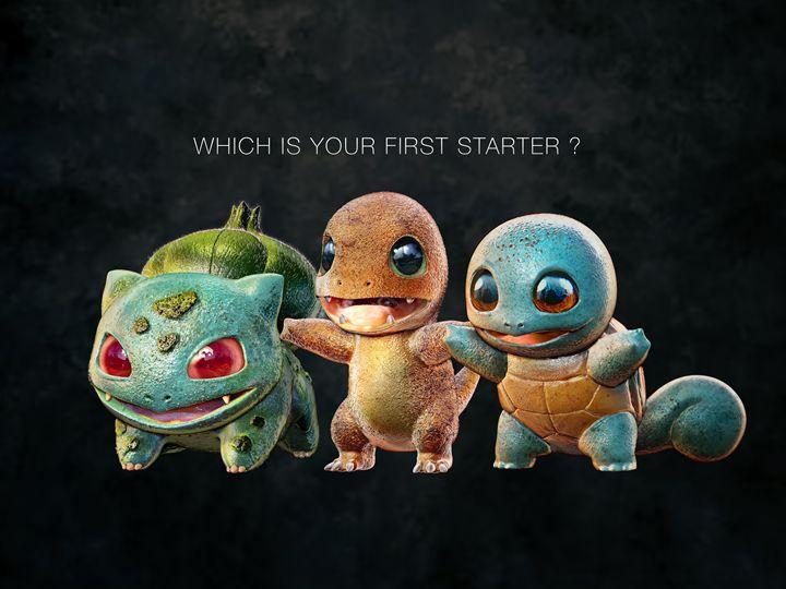 Pokemon Starter - motionmakers