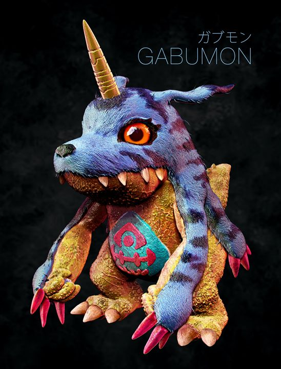 Digimon Gabumon - motionmakers