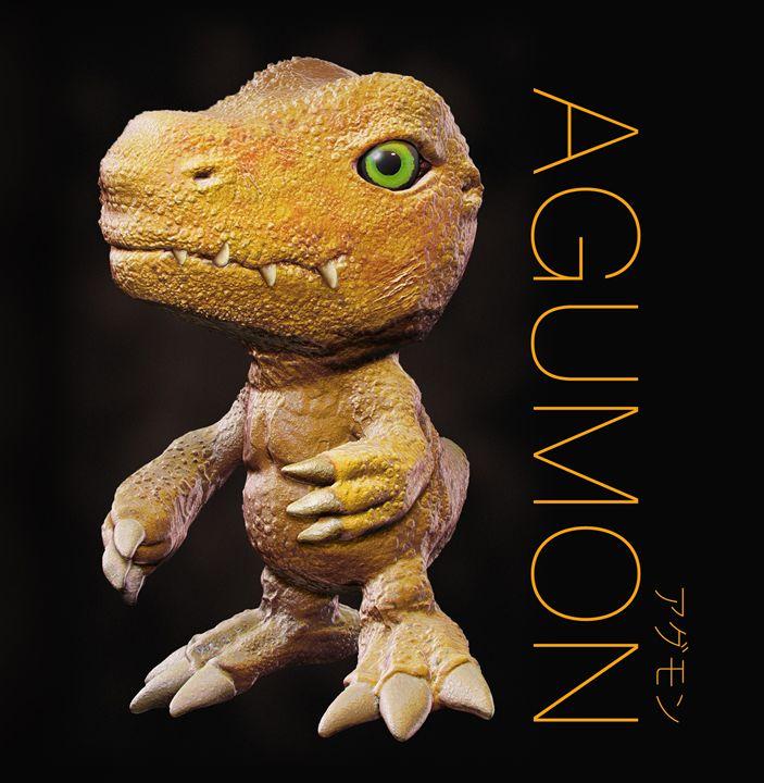 Digimon Agumon - motionmakers