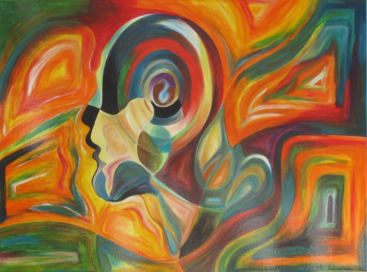 Abstract Head - Mónika Hóbor