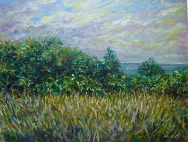 Hilton Head Island  oil  on canvas - Lana Grant MFA
