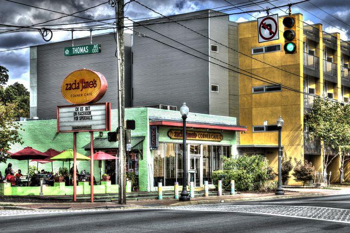 Zada Jane's Corner Cafe - Views Of Charlotte by CarlMillerPhotos.com