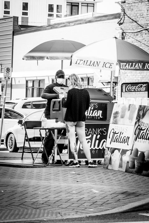 Italian Ice - Views Of Charlotte by CarlMillerPhotos.com