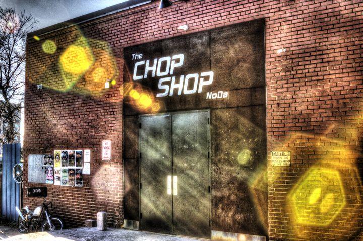 The Chop Shop NoDa - Views Of Charlotte by CarlMillerPhotos.com