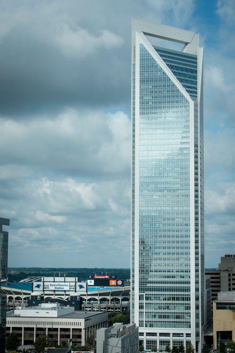 Duke Energy Tower - Charlotte NC - Views Of Charlotte by CarlMillerPhotos.com