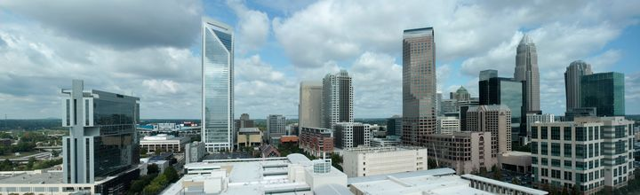 Uptown Panorama 131012 - Views Of Charlotte by CarlMillerPhotos.com
