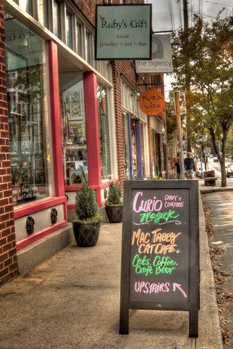 NoDa USA - Views Of Charlotte by CarlMillerPhotos.com