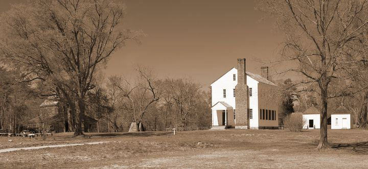 Historic Latta Plantation - Views Of Charlotte by CarlMillerPhotos.com