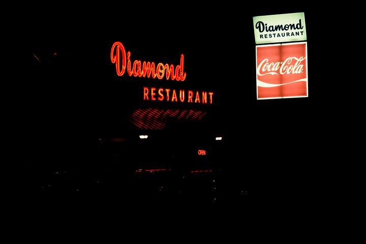 Diamond Restaurant - Plaza-Midwood - Views Of Charlotte by CarlMillerPhotos.com