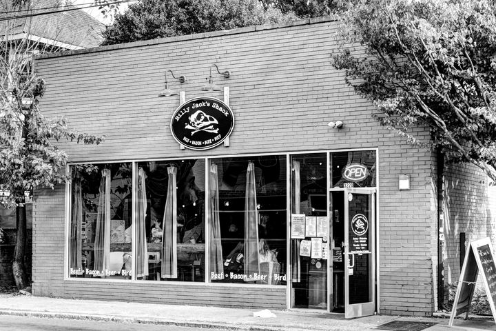 Billy Jack's Shack - Views Of Charlotte by CarlMillerPhotos.com