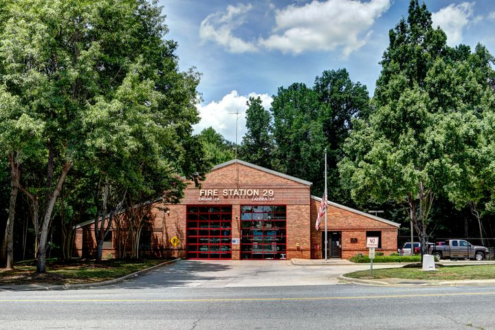 Charlotte Fire Station 29 - Views Of Charlotte by CarlMillerPhotos.com