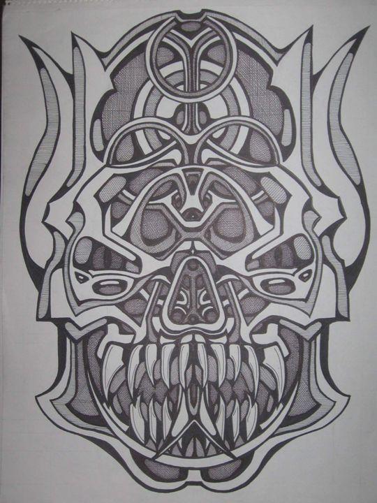 biohazard demon - VADR-visceral art and design