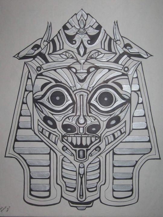 angry pharoah - VADR-visceral art and design