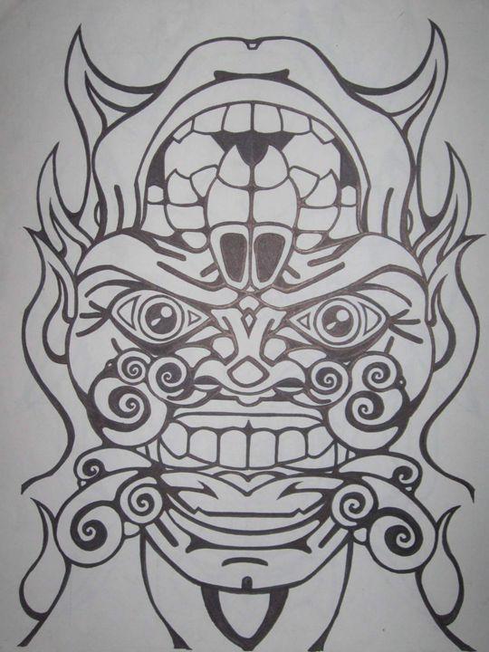 god of death - VADR-visceral art and design