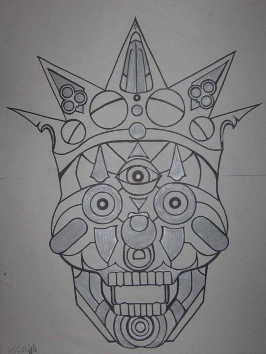 clown prince of fate - VADR-visceral art and design