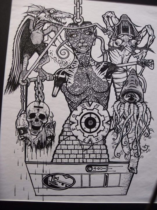 lady liberty - VADR-visceral art and design
