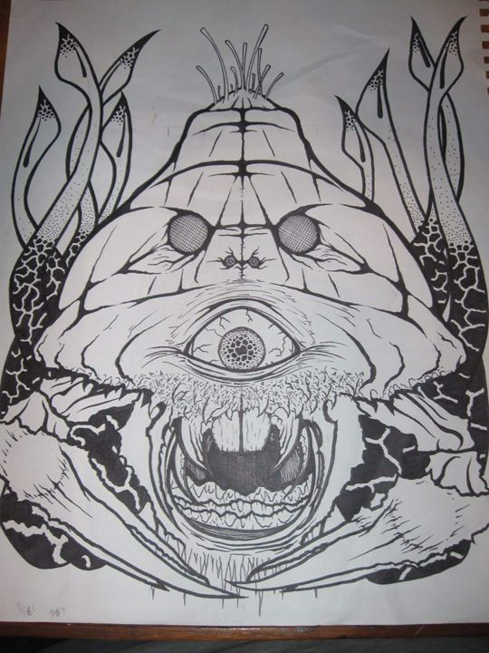 turtle crab octopus insect - VADR-visceral art and design