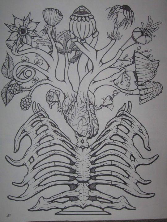sternum vase - VADR-visceral art and design