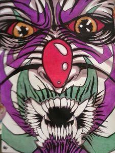 multi mandible clown