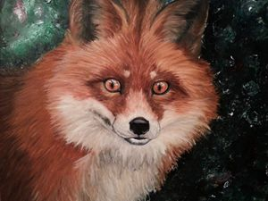 Portrait of a Hunter - Fox