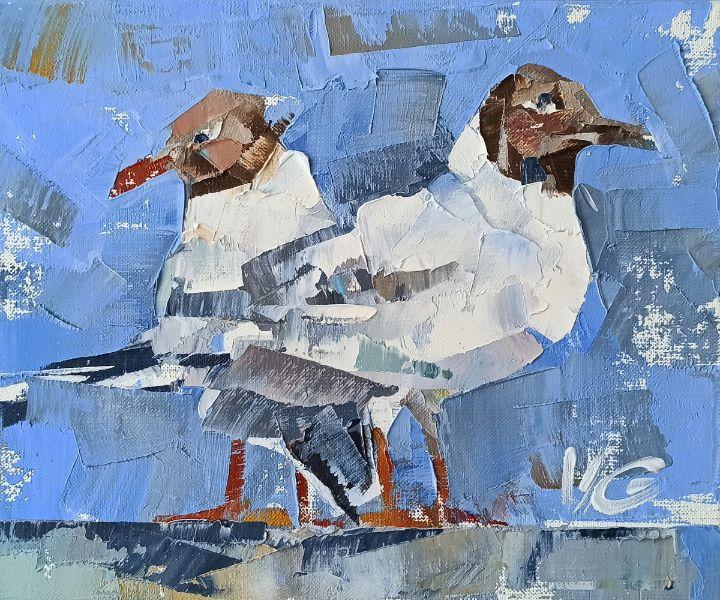Series BIRDS BAZAAR part #04 - Volodymyr Glukhomanyuk