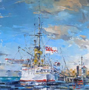 Series maritime arts HMS ORLANDO #01