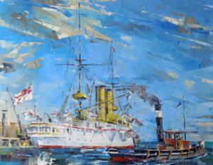 Series maritime arts HMS ORLANDO #02