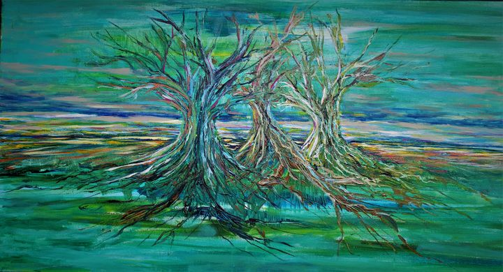 Sister Trees - Brian Edwards Gallery